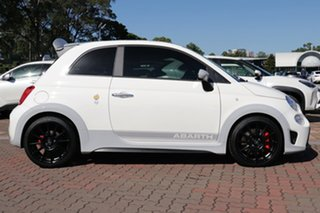2020 Abarth 695 Series 4 70 Anniversario White 5 Speed Manual Hatchback