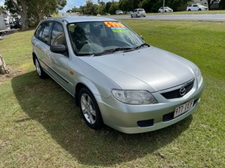 2003 Mazda 323 BJ II-J48 Astina Silver 4 Speed Automatic Hatchback.