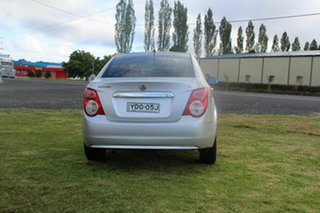 2014 Holden Barina TM MY14 CD Silver 5 Speed Manual Sedan