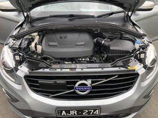 2016 Volvo XC60 DZ MY17 T5 Geartronic AWD R-Design Silver 8 Speed Sports Automatic Wagon