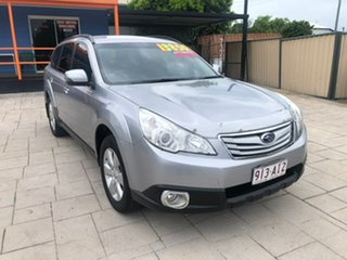 2011 Subaru Outback B5A MY12 2.5i Lineartronic AWD Silver 6 Speed Constant Variable Wagon.