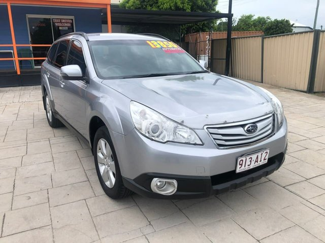 Used Subaru Outback B5A MY12 2.5i Lineartronic AWD Mundingburra, 2011 Subaru Outback B5A MY12 2.5i Lineartronic AWD Silver 6 Speed Constant Variable Wagon