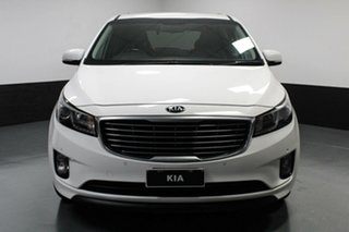 2016 Kia Carnival YP MY17 SLi White 6 Speed Sports Automatic Wagon.