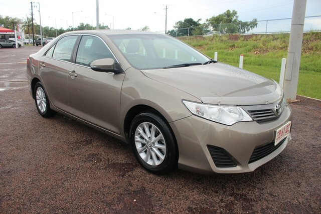 Pre-Owned Toyota Camry ASV50R Altise Darwin, 2014 Toyota Camry ASV50R Altise Magnetic Bronze 6 Speed Sports Automatic Sedan