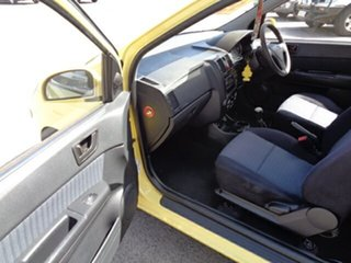 2008 Hyundai Getz TB MY07 SX Yellow 5 Speed Manual Hatchback