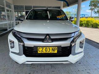 2019 Mitsubishi Triton GLS White Sports Automatic Dual Cab Utility.
