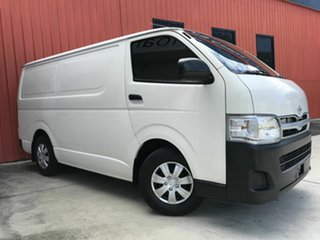 2013 Toyota HiAce TRH201R MY12 LWB White 4 Speed Automatic Van