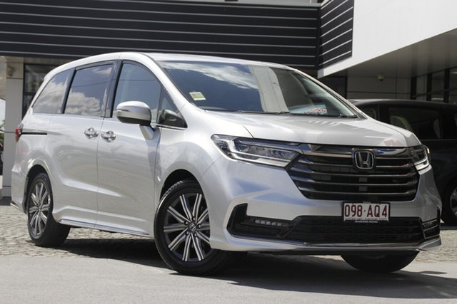 Demo Honda Odyssey RC 21YM Vi LX7 Mount Gravatt, 2020 Honda Odyssey RC 21YM Vi LX7 Super Platinum 7 Speed Constant Variable Wagon