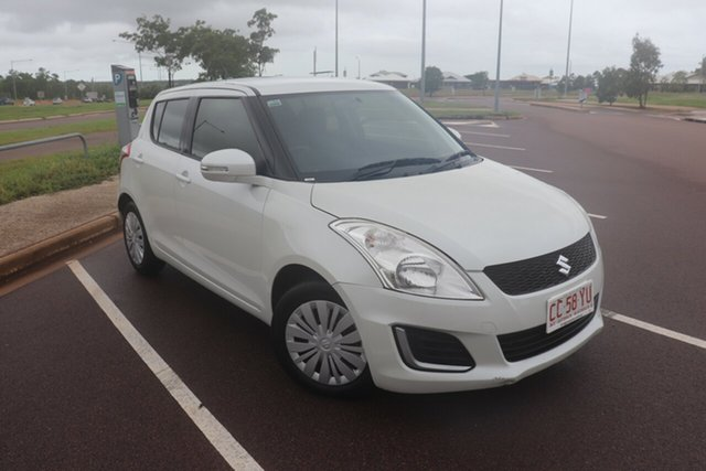 Pre-Owned Suzuki Swift FZ MY15 GL Palmerston, 2016 Suzuki Swift FZ MY15 GL 4 Speed Automatic Hatchback