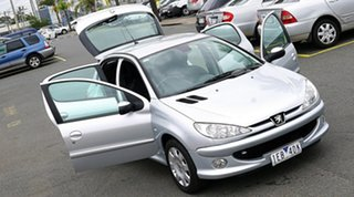 2006 Peugeot 206 T1 MY06 XT Silver 5 Speed Manual Hatchback
