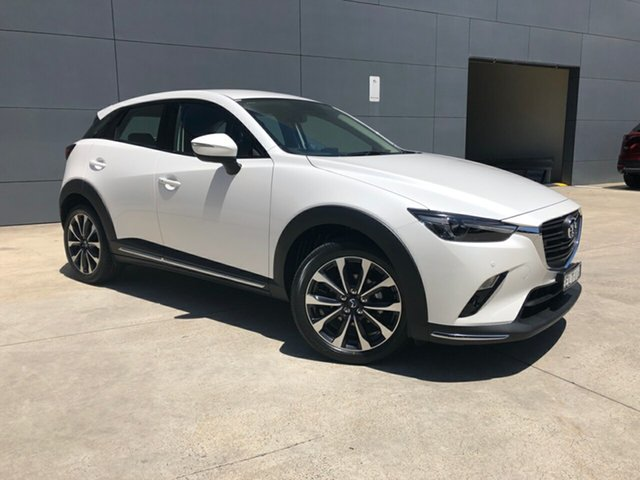 Demo Mazda CX-3 DK2W7A sTouring SKYACTIV-Drive FWD Alexandria, 2020 Mazda CX-3 DK2W7A sTouring SKYACTIV-Drive FWD Snowflake White 6 Speed Sports Automatic Wagon