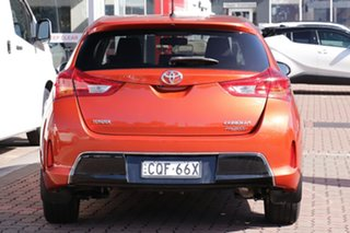 2013 Toyota Corolla ZRE182R Ascent Sport Orange 6 Speed Manual Hatchback