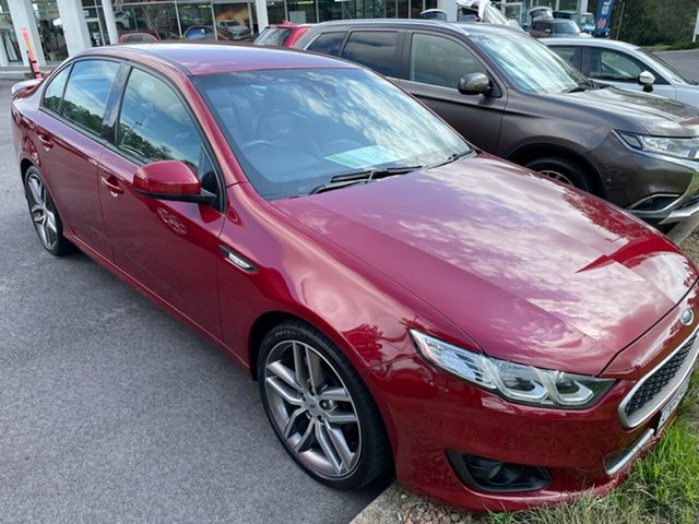 Used Ford Falcon FG X XR6 Maitland, 2015 Ford Falcon FG X XR6 Red 6 Speed Sports Automatic Sedan