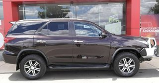 2016 Toyota Fortuner GUN156R GXL Brown 6 Speed Automatic Wagon.