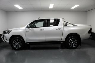 2016 Toyota Hilux GUN126R SR5 Double Cab White 6 Speed Manual Utility