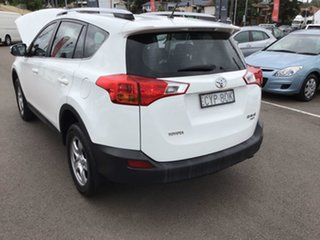 2013 Toyota RAV4 ASA44R GX AWD White 6 Speed Sports Automatic Wagon