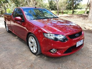 2010 Ford Falcon FG XR6 Red Sports Automatic Utility.