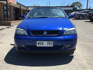 2002 Holden Astra TS Blue 5 Speed Manual Convertible