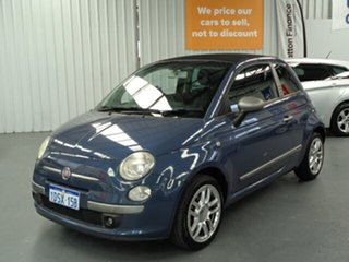 2011 Fiat 500C Series 1 By DIESEL Dualogic Blue 5 Speed Sports Automatic Single Clutch Convertible.
