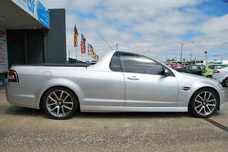 2008 Holden Commodore VE SV6 60th Anniversary Silver 6 Speed Manual Utility