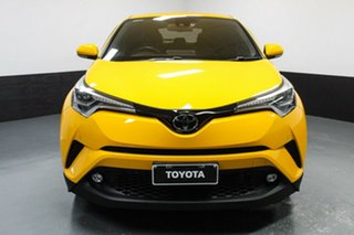 2017 Toyota C-HR NGX10R Koba S-CVT 2WD Yellow 7 Speed Constant Variable Wagon.