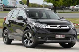 2017 Honda CR-V RW MY18 VTi FWD Black 1 Speed Constant Variable Wagon.