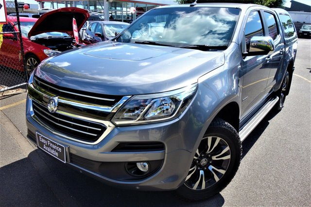 Used Holden Colorado RG MY18 LTZ Pickup Crew Cab Seaford, 2017 Holden Colorado RG MY18 LTZ Pickup Crew Cab Grey 6 Speed Sports Automatic Utility