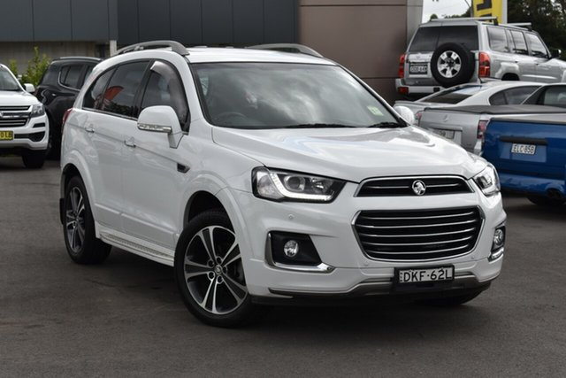 Used Holden Captiva CG MY16 LTZ AWD Tuggerah, 2016 Holden Captiva CG MY16 LTZ AWD White 6 Speed Sports Automatic Wagon