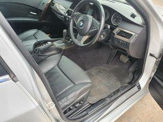 2004 BMW 5 Series E60 530i Steptronic M Sport Silver 6 Speed Sports Automatic Sedan