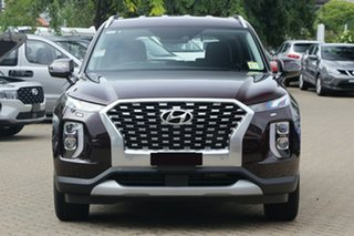 2020 Hyundai Palisade LX2.V1 MY21 AWD Black 8 Speed Sports Automatic Wagon