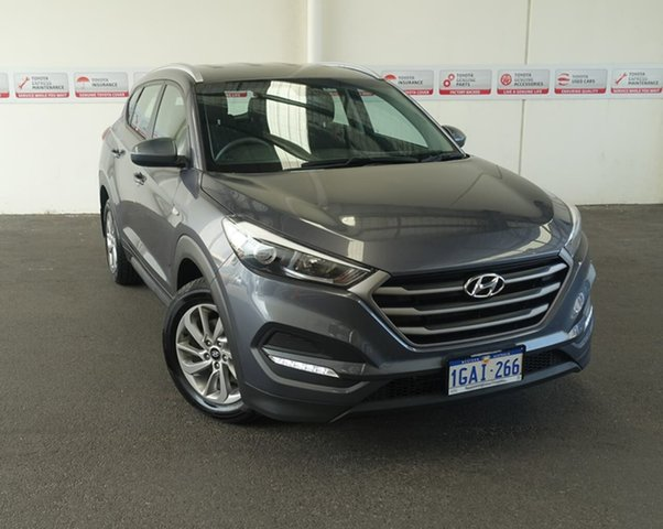Pre-Owned Hyundai Tucson TLE Active (FWD) Rockingham, 2016 Hyundai Tucson TLE Active (FWD) Grey 6 Speed Automatic Wagon