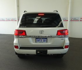 2018 Toyota Landcruiser VDJ200R VX Crystal Pearl 6 Speed Sports Automatic Wagon
