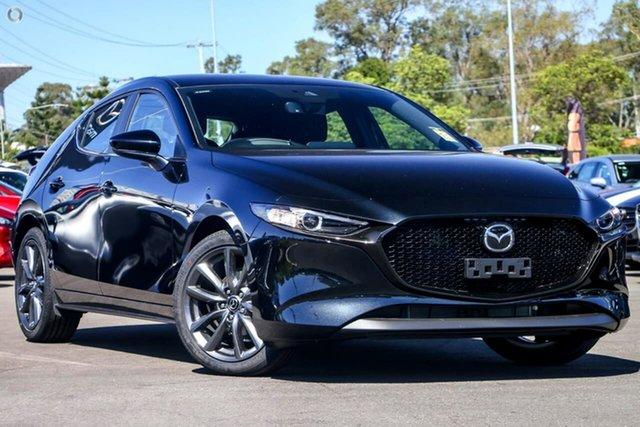 New Mazda 3 BP2H7A G20 SKYACTIV-Drive Evolve Waitara, 2020 Mazda 3 BP2H7A G20 SKYACTIV-Drive Evolve Black 6 Speed Sports Automatic Hatchback