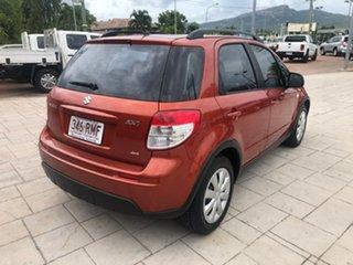 2011 Suzuki SX4 GYB MY10 Orange 6 Speed Manual Hatchback