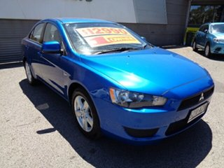 2013 Mitsubishi Lancer CJ MY13 ES Blue 6 Speed Constant Variable Sedan.