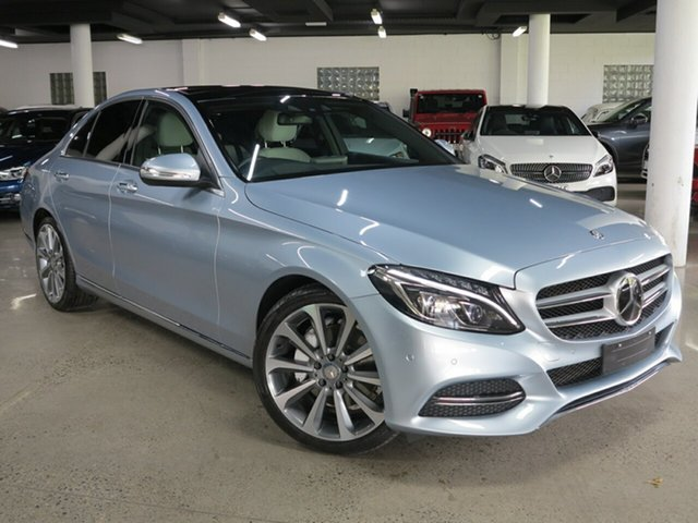Used Mercedes-Benz C-Class W205 C250 7G-Tronic + Albion, 2015 Mercedes-Benz C-Class W205 C250 7G-Tronic + Silver 7 Speed Sports Automatic Sedan