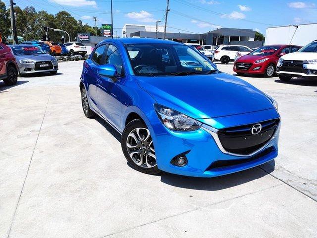 Used Mazda 2 DJ2HAA Genki SKYACTIV-Drive Liverpool, 2015 Mazda 2 DJ2HAA Genki SKYACTIV-Drive Blue 6 Speed Sports Automatic Hatchback