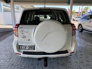 2011 Toyota RAV4 CV White Automatic Wagon