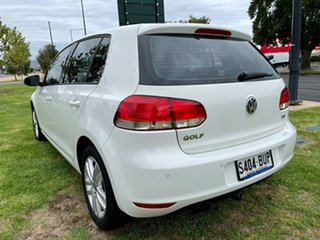 2009 Volkswagen Golf VI 118TSI DSG Comfortline White 7 Speed Sports Automatic Dual Clutch Hatchback