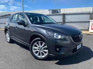 2013 Mazda CX-5 KE1021 Grand Touring SKYACTIV-Drive AWD Grey 6 Speed Sports Automatic Wagon.