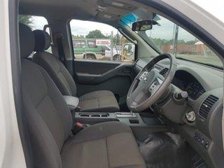 2014 Nissan Navara D40 S8 RX White 5 Speed Automatic Utility
