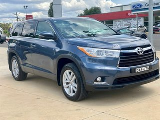 2015 Toyota Kluger GX Blue Sports Automatic Wagon.