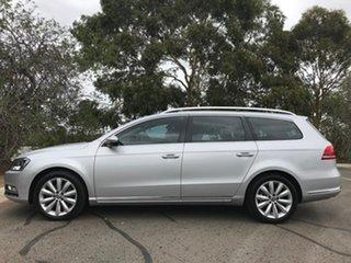 2014 Volkswagen Passat Type 3C MY14.5 118TSI DSG Silver 7 Speed Sports Automatic Dual Clutch Wagon