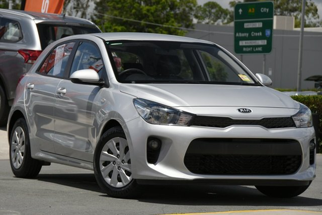 Used Kia Rio YB MY18 S Aspley, 2018 Kia Rio YB MY18 S Silver 4 Speed Sports Automatic Hatchback