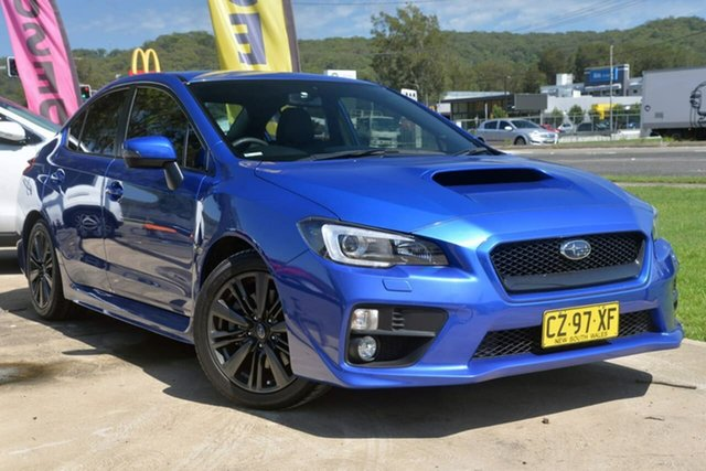 Used Subaru WRX V1 MY15 Premium Lineartronic AWD West Gosford, 2015 Subaru WRX V1 MY15 Premium Lineartronic AWD Blue 8 Speed Constant Variable Sedan