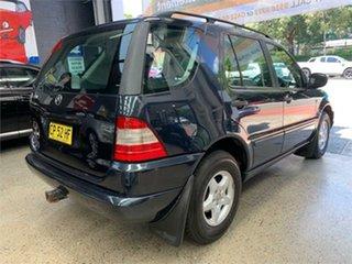 2001 Mercedes-Benz M-Class W163 ML320 Luxury Blue Sports Automatic Wagon