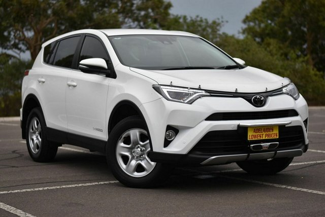 Used Toyota RAV4 ALA49R GX AWD Enfield, 2017 Toyota RAV4 ALA49R GX AWD White 6 Speed Sports Automatic Wagon