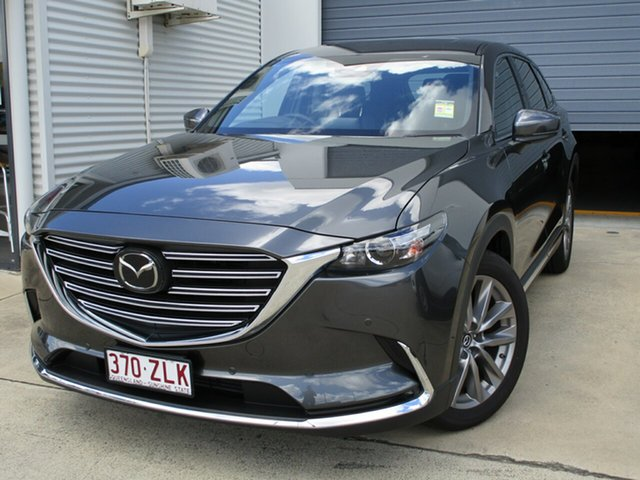 Used Mazda CX-9 TC GT SKYACTIV-Drive Caboolture, 2019 Mazda CX-9 TC GT SKYACTIV-Drive Grey 6 Speed Sports Automatic Wagon