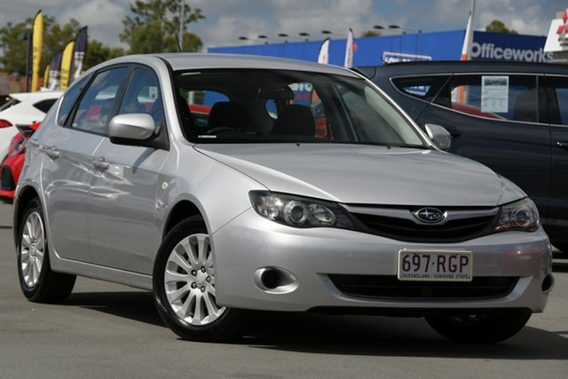 Used Subaru Impreza G3 MY09 R AWD Aspley, 2009 Subaru Impreza G3 MY09 R AWD Silver 5 Speed Manual Hatchback