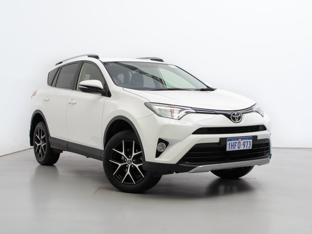 Used Toyota RAV4 ZSA42R MY17 GXL (2WD), 2017 Toyota RAV4 ZSA42R MY17 GXL (2WD) White Continuous Variable Wagon